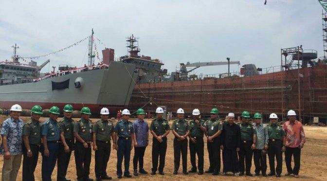 PT Daya Radar Utama LMI Luncurkan LCU H380 TNI AD