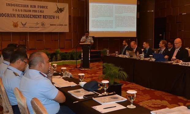 Upgrade 10 Unit Pesawat Tempur F-16 Dibahas TNI AU dan US Government