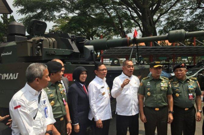 PT Pindad Jajaki Ekspor Tank Harimau ke Negara di Asia