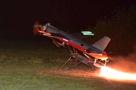 Penembakan rudal QW-3 di Pantai Santolo, Kecamatan Pameungpeuk. (24042019) 2