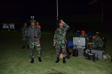 Penembakan rudal QW-3 di Pantai Santolo, Kecamatan Pameungpeuk. (24042019) 3