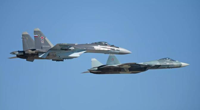 Rusia Siap Barter Su-35 Atau Su-57E dengan Minyak Sawit Malaysia