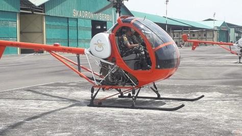 Taruna Akmil Dibekali Kemampuan Menerbangkan Helikopter