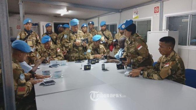 Keberhasilan Tim Mayor Inf Gembong di Kongo Jadi Topik di Sidang DK PBB