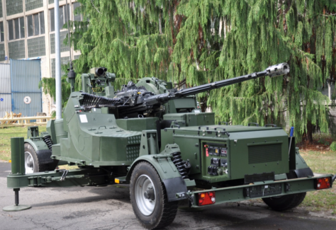 A AG-35 towed anti aircraft artillery (Radwar)