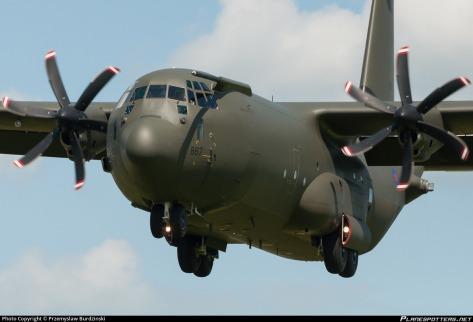 C-130J Super Hercules (Przemyslaw Burdzinski)