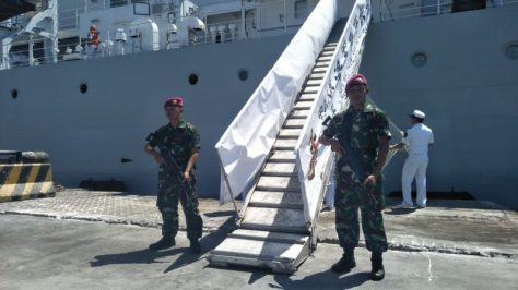 Kapal Perang Hai Yang 25 Singgah di Surabaya