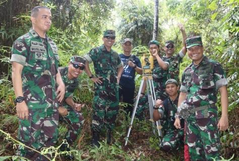 Pangkosekhanudnas Tinjau Lokasi Penempatan Radar