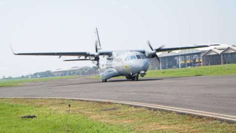 Puspenerbal kedatangan satu unit Pesawat CN 235-220 MPA (Puspenerbal) 1