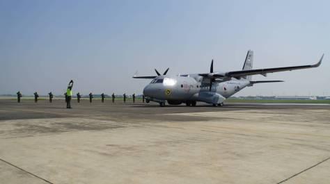 Puspenerbal kedatangan satu unit Pesawat CN 235-220 MPA (Puspenerbal) 3