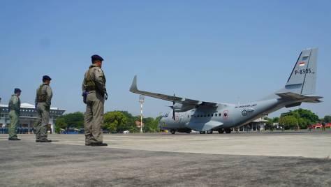 Puspenerbal kedatangan satu unit Pesawat CN 235-220 MPA (Puspenerbal) 4