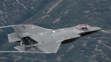U.S. Air Force F-35A Lightning II aircraft. (U.S. Air Force)