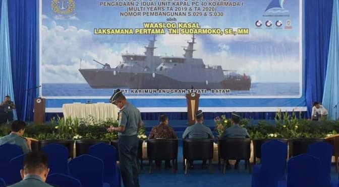 Bureau Veritas Kembali Awasi Proyek Konstruksi Baru PC-40 TNI AL