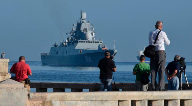 Kapal Perang Rusia Berlabuh di Kuba