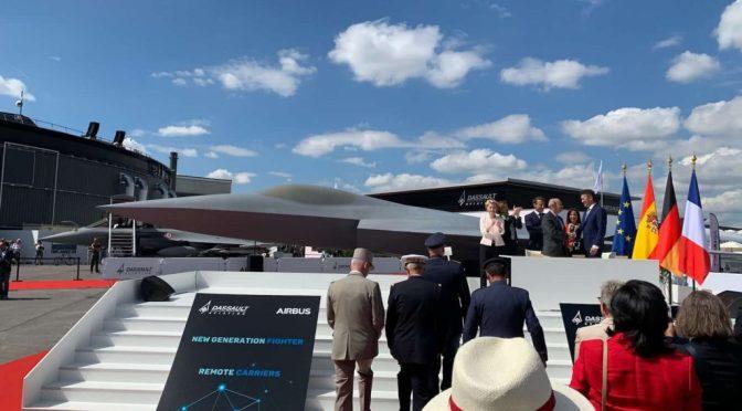 Dassault Aviation dan Airbus SE Luncurkan Pesawat Tempur Generasi Baru di Paris Air Show 2019