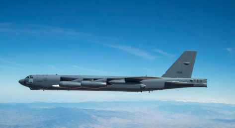 First Flight Of A B-52 Bomber Carrying The AGM-183A Hypersonic Missile (The Drive) 1
