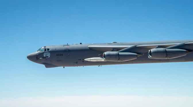 Bomber B-52 Stratofortress Berhasil Terbangkan Rudal Hipersonik