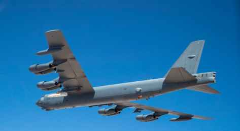 First Flight Of A B-52 Bomber Carrying The AGM-183A Hypersonic Missile (The Drive) 3