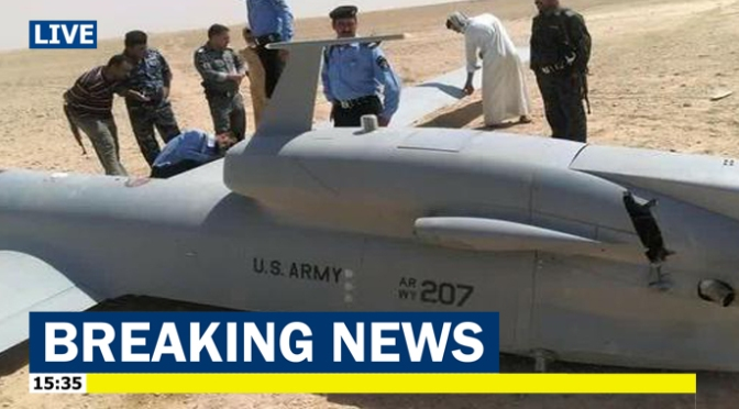 Global Hawk AS Ditembak Jatuh Militer Iran