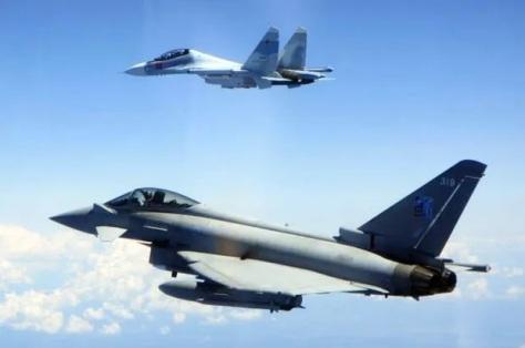 Jet tempur Typhoon Inggris. Istimewa