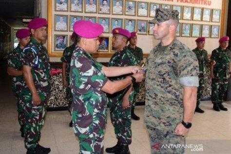Korps Marinir TNI AL – Marinir Amerika Serikat menggelar latihan bersama