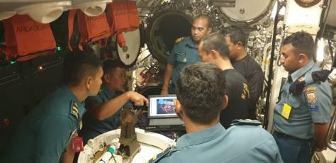 Latihan Pengoperasian Ranjau TNI AL oleh prajurit Satran Koarmada II, yang diselenggarakan pada tanggal 18 hingga 26 Maret 2019.