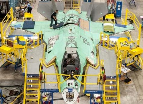 Lockheed Martin Expanding F-35 Assembly Line Capacity For Production Ramp Up (f35.com)