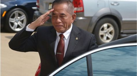 Menteri Pertahanan RI Ryamizard Ryacudu (AFP)
