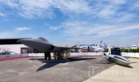 Prototype pesawat tempur 'siluman' generasi keenam yang dirancang tiga negara Eropa sekaligus yakni Jerman, Prancis, dan Spanyol dalam ajang Paris Air Show 2019