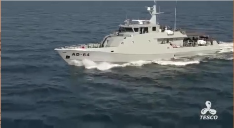 Sea Trial and Firing Test KMC 38 M TNI AD