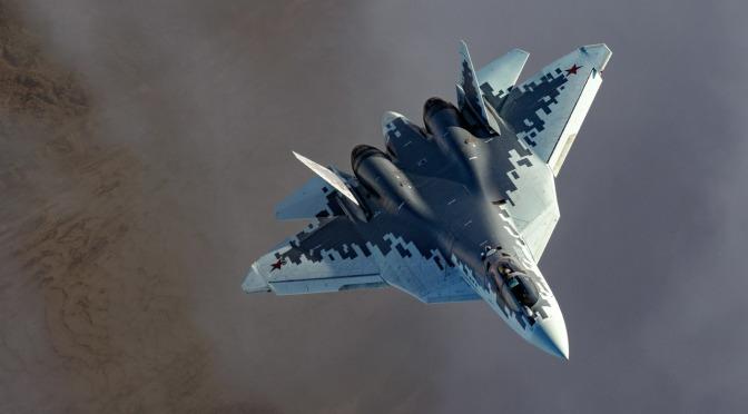Rusia Akan Terima 76 Unit Jet Tempur Siluman Su-57