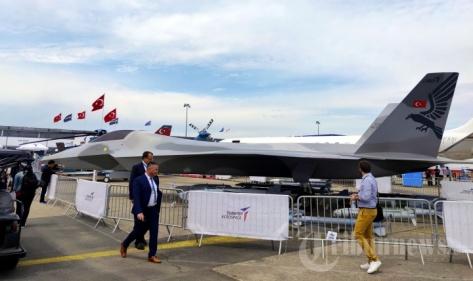 TF-X diperkenalkan dalam ajang Paris Air Show 2019