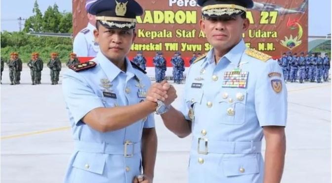 TNI AU Resmikan Skadron Udara 27 Biak