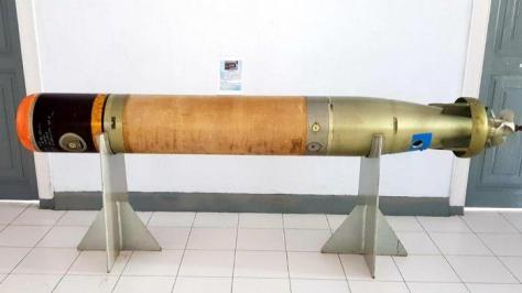 Torpedo MK. NC. 44 MOD Masuk Naval Museum TNI AL