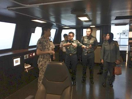 Delegasi TNI AL Kunjungi Markas RSN