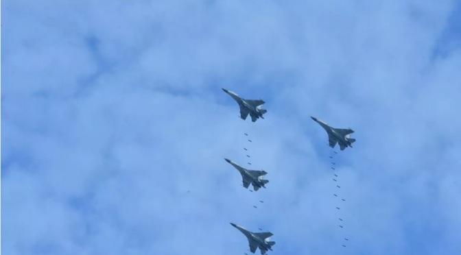 Fire Power Demo, 99% Target Berhasil Dihancurkan Pesawat Tempur Angkatan Udara