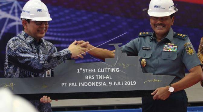PT PAL Mulai Laksanakan Proses Konstruksi Kapal Bantu Rumah Sakit TNI AL
