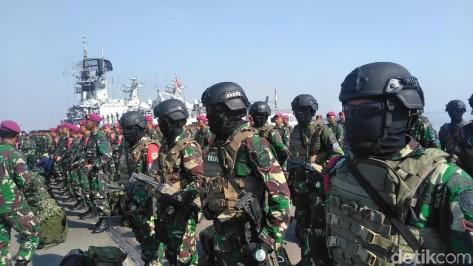 Gelar Pasukan Armada Jaya ke-37 (Detik)