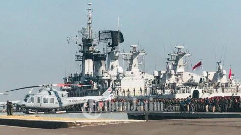 Gelar Pasukan Armada Jaya ke-37