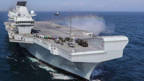 HMS Queen Elizabeth (BBC)