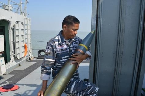 KRI Nala-363, Sang Legenda di Armada Jaya XXXVII 1