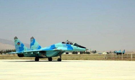 MiG-29 Azerbaijan Jatuh di Laut Kaspia
