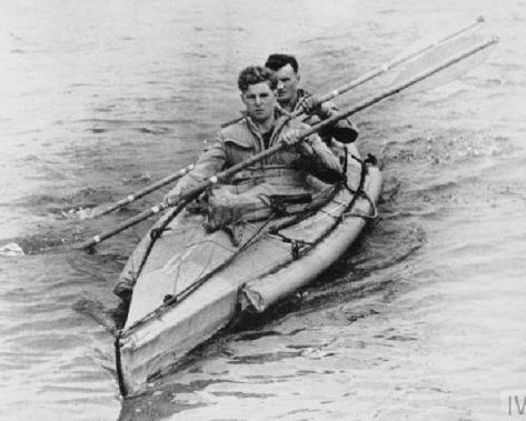 Operasi gabungan Special Boat Service Operation Pilotage Parties, 1944.[nam.ac.uk]