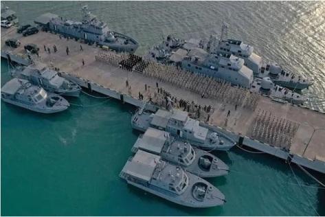 Pangkalan Angkatan Laut Kamboja di Ream. (Khmer Times)