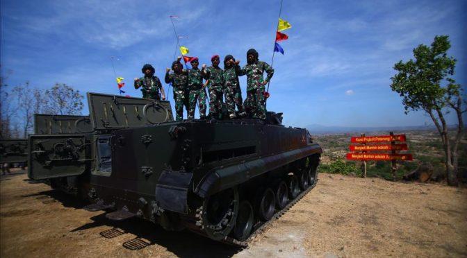 Panglima TNI Jajal BMP-3F