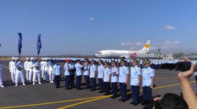 Peresmian Depohar 80 TNI AU