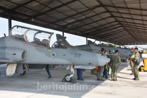 Pesawat tempur TNI AU (Berita Jatim)