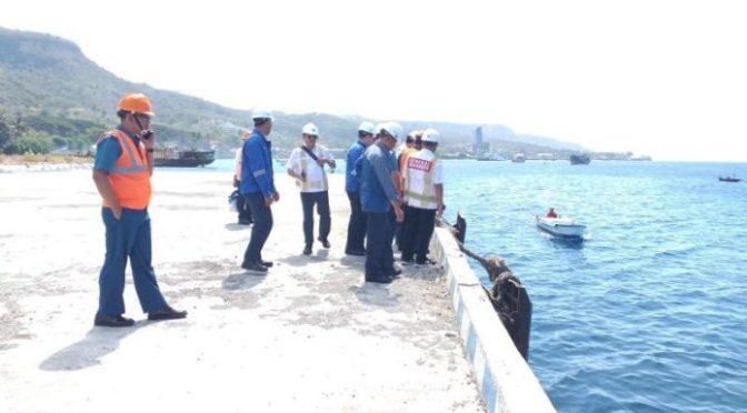 Penyiaapan Fasilitas Sandar SAT Kapal Selam