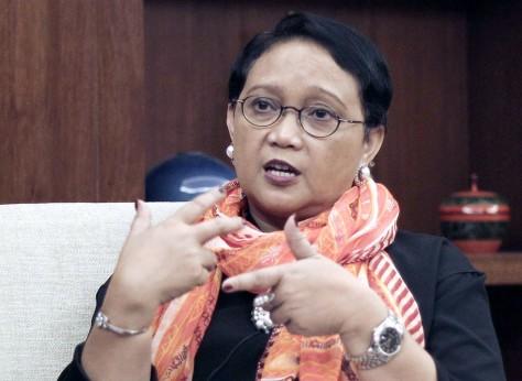 Retno Marsudi (The Jakarta Post)