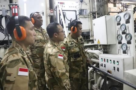 Satgas MTF 28-K KRI Sultan Hasanuddin-366 Menerima Tim Verifikasi dari Mabes TNI
